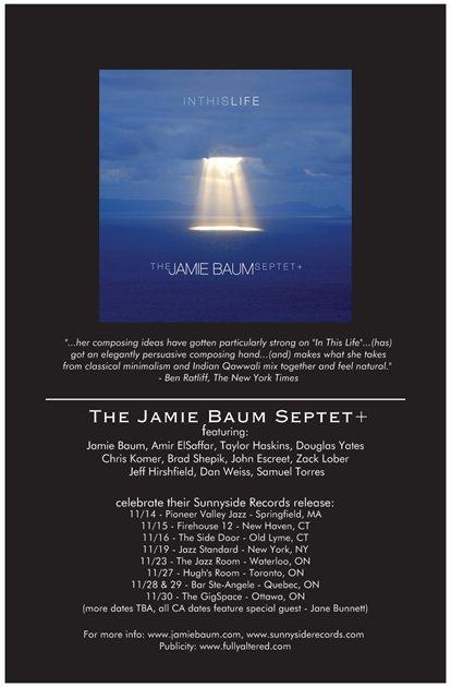 Jamie Baum Tour