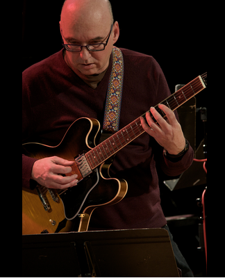 Ted Quinlan Trio (opening band: Sam Dickinson Trio) @ The Jazz Room @ The Huether Hotel